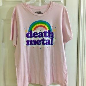 pink graphic shirt